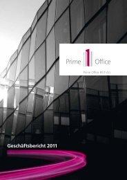 Geschäftsbericht 2011 - Investor Relations - Prime Office AG