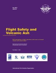 Flight Safety and Volcanic Ash - ICAO