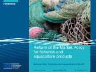 Reform of the Market Policy for fisheries and aquaculture products - Ice