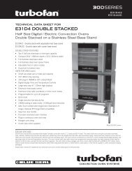 Download Manufacturer's Specification Sheet - Ice Machines