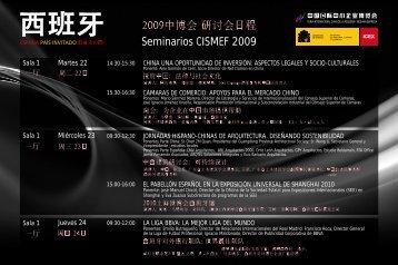 Seminarios CISMEF 2009 - Icex