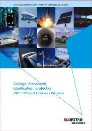 Collage, étanchéité, lubrification, protection - Bluestar Silicones
