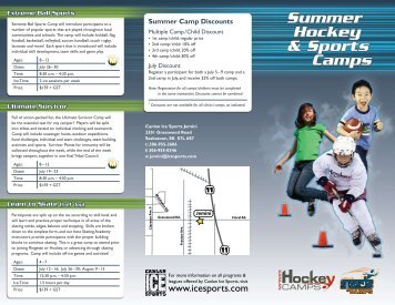 Meal Plan - Canlan Ice Sports