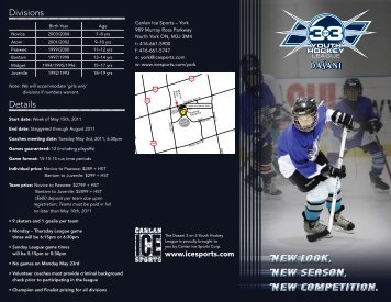 Divisions Details - Canlan Ice Sports