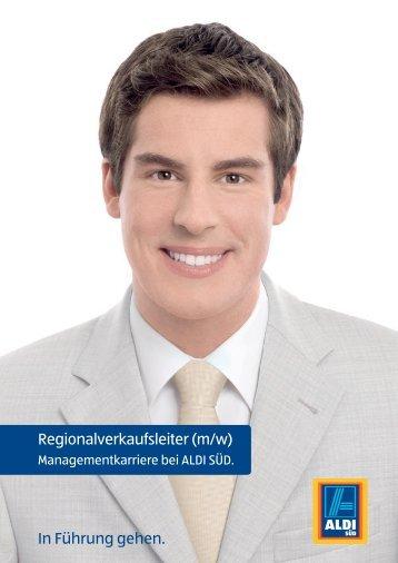 In Führung gehen. Regionalverkaufsleiter (m/w) - Staufenbiel Institut