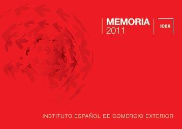 MEMORIA 2011 - Icex