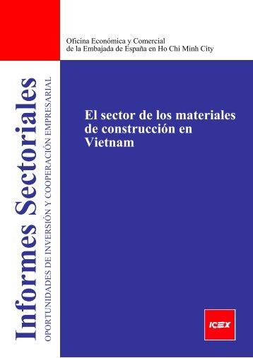 El sector de los materiales de construcción en Vietnam - Icex