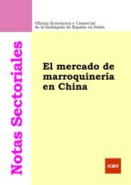 El mercado de marroquinería en China - Icex