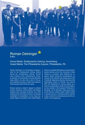 Roman Deininger