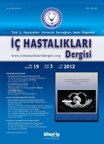 Ic Hastaliklari 2012-3 copy copy.eps - İç Hastalıkları Dergisi