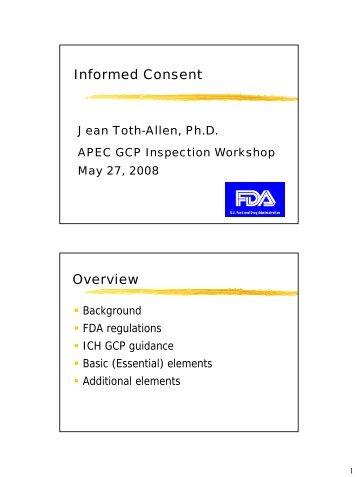 Informed Consent - ICH