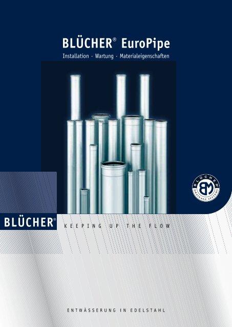 BLÜCHER® Europipe - BLÜCHER Metal HKT Gmbh