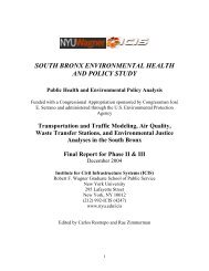 south bronx environmental health and policy study - Institute for Civil ...