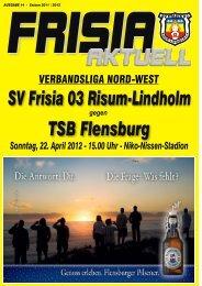 Nr. 14 - SV Frisia 03 Risum-Lindholm eV