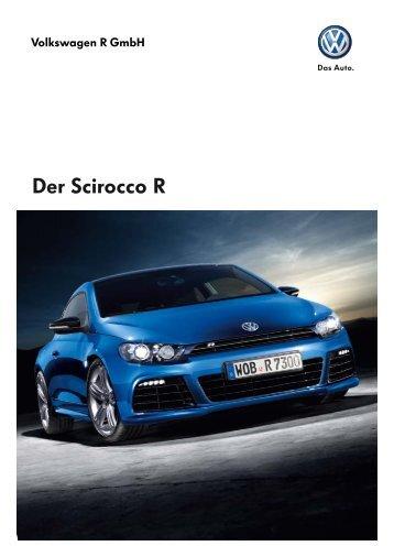Der Scirocco R - Autohaus Elmshorn