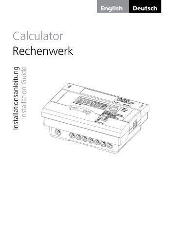 Calculator Rechenwerk - ICM Technologies / ICM Technologies