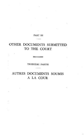 other documents submitted to the court autres documents soumis a ...