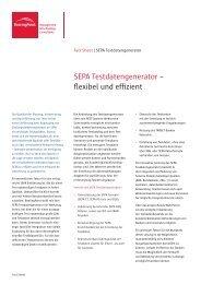 SEPA Testdatengenerator - BearingPoint ToolBox