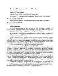 1 Etapa II.1. Elaborare documentatie model functional ... - ICMET