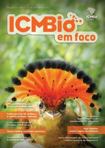 1 Edição 217 Esec Tamoios analisa regras de visitação ... - ICMBio