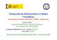 U - Materials Science Institute of Madrid