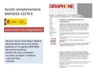 'On Graphene', F. Guinea, ICMM - Materials Science Institute of Madrid