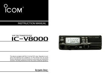 ic m33 instruction manual icom polska sp z o o sopot rh yumpu com IC- 2200H Manual VHF Radio Icom 22 00H