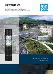 UNIVERSAL WS - Icopal GmbH