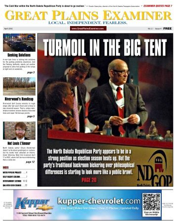 Vol.2 Issue3, April 2012 - Great Plains Examiner