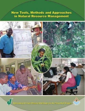 New Tools, Methods, and Approaches in Natural Resource ... - Icrisat