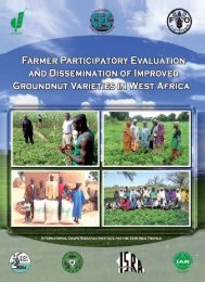 Farmer Participatory Evaluation and Dissemination of ... - icrisat