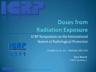 Doses from Radiation Exposure - ICRP
