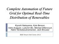 Complete Automation for Optimal Flow Control in Future Smart Grid