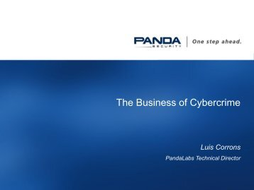 The Business of Cybercrime - ict-forward