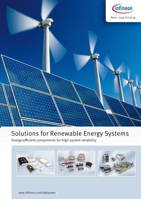 solutions for renewable energy systems - I.C.T. Power Company Inc.