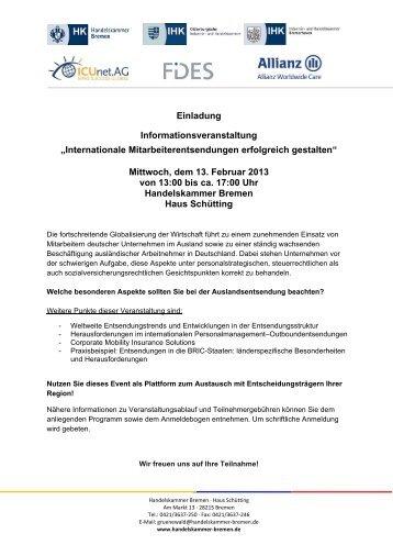 einladung zur informationsveranstaltung mit apéro - okaj, Einladungen