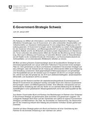 E-Government-Strategie Schweiz