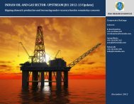 INDIAN OIL AND GAS SECTOR- UPSTREAM [H1 2012-13 ... - ICRA