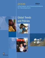 Information and Communications for Development 2006 - ICT Digital ...