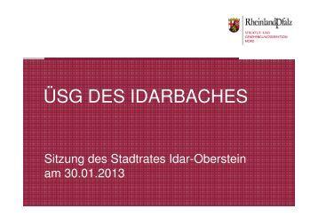 PowerPoint-Präsentation der Struktur - Idar-Oberstein