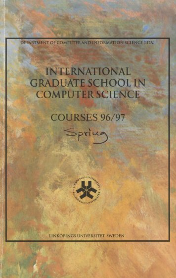 international graduate school in computer science - Department of ...