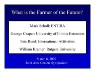 What is the Farmer of the Future? - Ideals