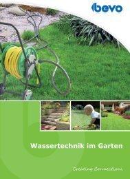 BEVO, Ihr Lieferant für Wassertechnik im Garten