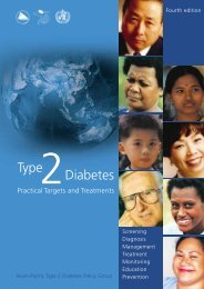 Type 2 Diabetes Practical Targets and Treatments