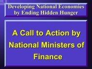 Ending Hidden Hunger - Idpas.org