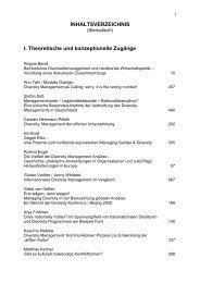 I. Theoretische und konzeptionelle Zugänge - idm - International ...