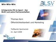Erfolgreiche PR im Sport