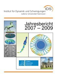 Jahresbericht 2007-2009 - IDS - Leibniz Universität Hannover