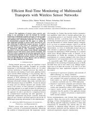 Efficient Real-Time Monitoring of Multimodal Transports with ... - LCN