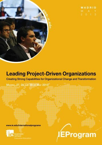 Leading Project-Driven Organizations[pdf] - IE